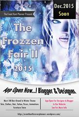 The Frozzen Fair 2015 OPEN APP FOR DESIGNER AND BLOGGER