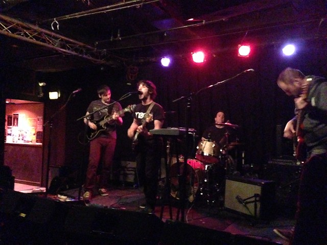 Speedy Ortiz, Big Ups et al at Great Scott 12/12/14