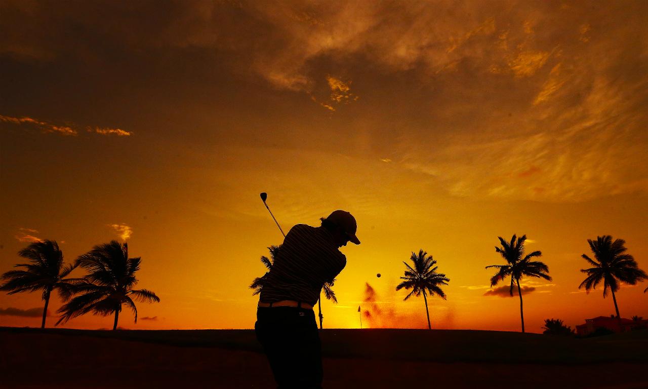 Práctica Mazatlán Golf Championship