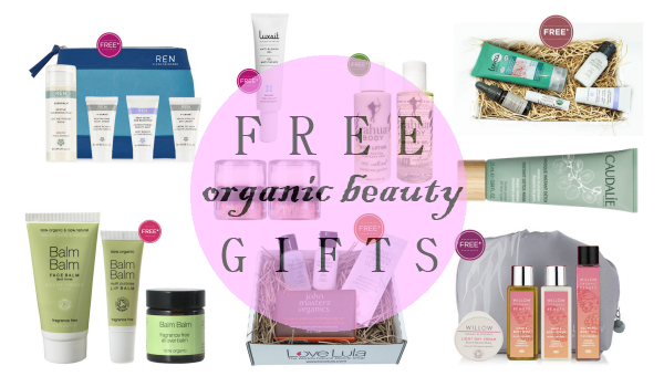 Weekly Discounts and Free Organic Beauty Gifts #34