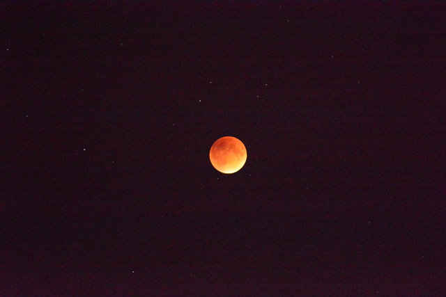 'Blood Moon' Lunar Eclipse by John Crosby