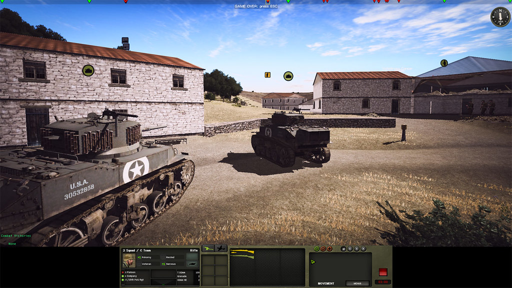 6_Combat_Mission_Fortress_Italy_War_Movie_ADVANCED_mode