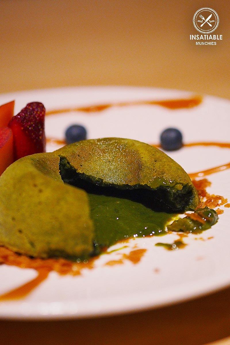 Sydney Food Blog Review of One Tea Lounge, Sydney CBD: Matcha Lava Bomb, $20