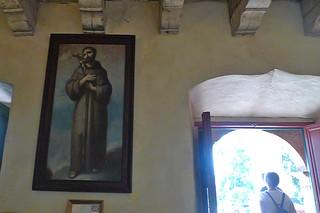 Santa Barbara - Santa Barbara Mission painting