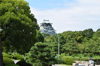 תמונה של Osaka Castle Park ליד Ōsaka-shi. 大阪城 osakacastle osakacastlepark 大阪城公園