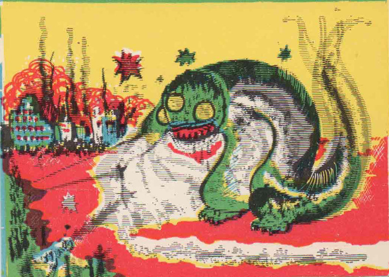 Monster Magic Action Trading Cards (1963) 3
