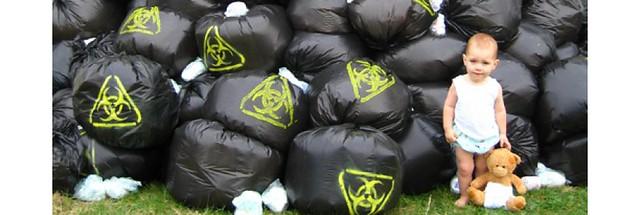 pañales de tela y pañales biodegradables