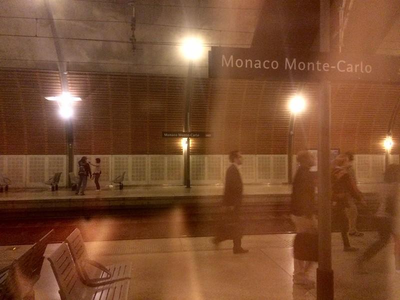 Brief moment in Monaco.
