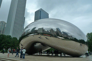 Chicago - Cloud Gate looking northeast