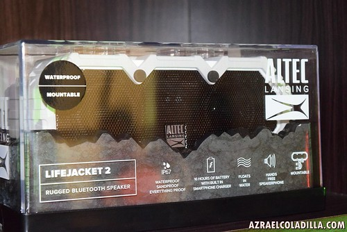 Altec Lansing rugged and all proof Bluetooth speakers