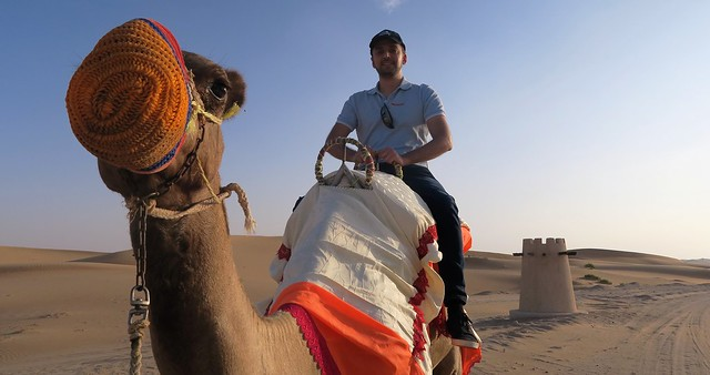 arabian nights village zaid camel travpacker