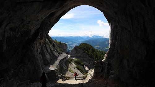 Höhleneingang Eisriesenwelt Werfen