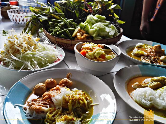 Khanom Chin Rayong Thailand