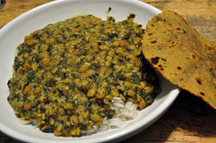 Panchmela dal (five-lentil stew with cumin and cay…