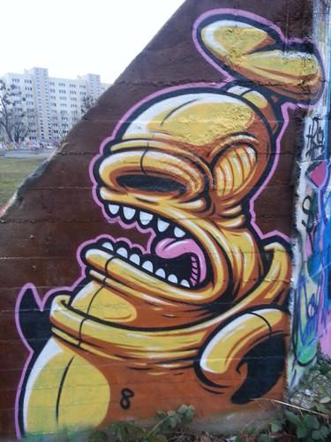 Graffiti in Dresden ohne  Glätte und Korrektheit 068