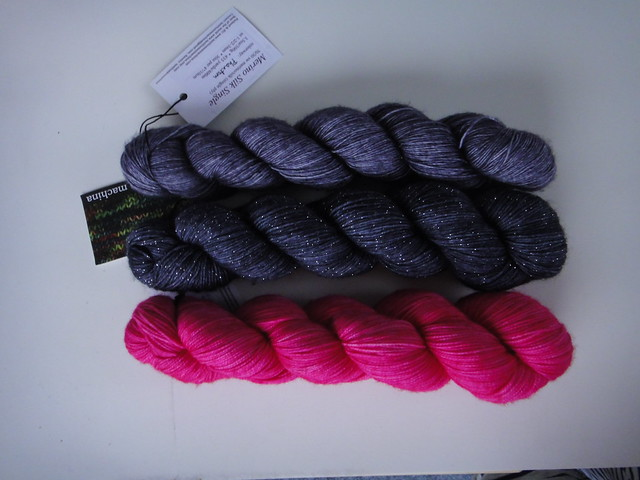 The yarn for the Doodler