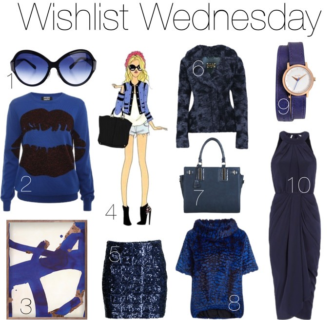 #blue themed wishlist ft. Lena Hoschek, Laurèl, Rodeo Show I www.StyleByCharlotte.com