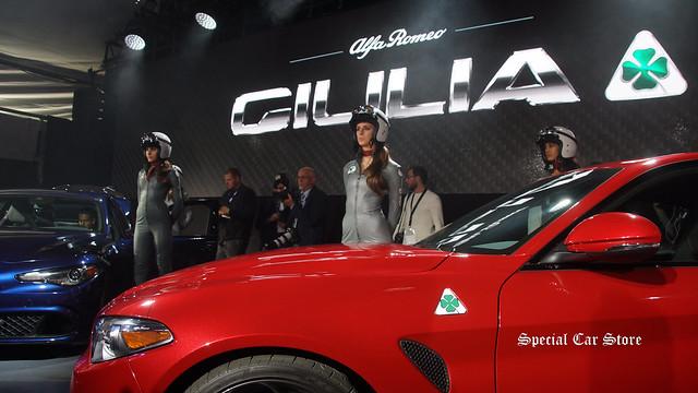 Alfa Romeo Giulia Reveal at LA Auto Show 2015