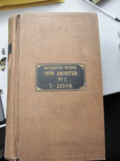 Manchester Museum Coin Register No.2