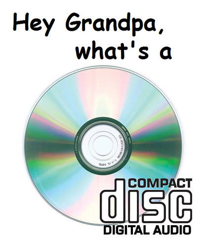 The CD: R.I.P.?