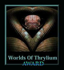 Worlds Of Thrylium Award ;