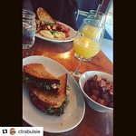 Still time left to get your reservations in for brunch this weekend! :egg: Give us a call at 401-831-3733 to RSVP #brunchinPVD #brunch #Repost @ctrabulsie with @repostapp ・・・ Bottomless mimosas