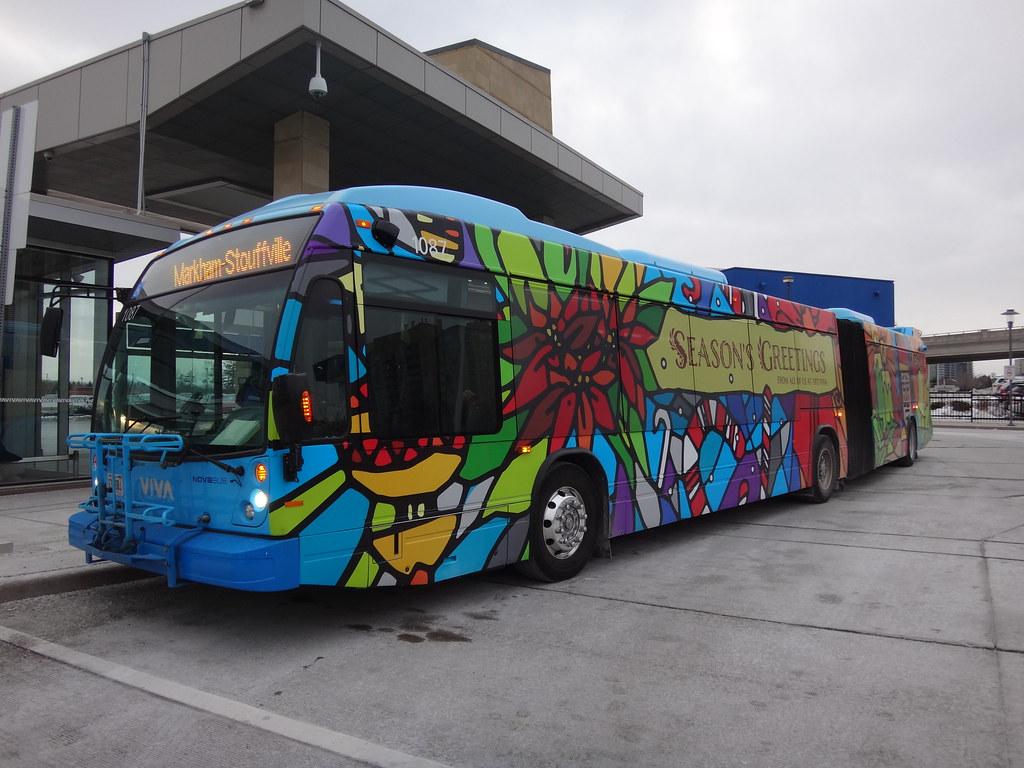 Viva Nova Bus LFX Artic 1087