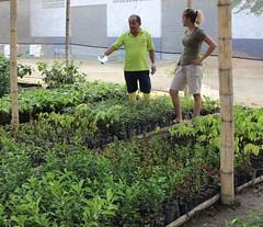 GAD Municipal provee de plantas a ULEAM Chone