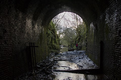 Torpantau Tunnel - approaching the south portal