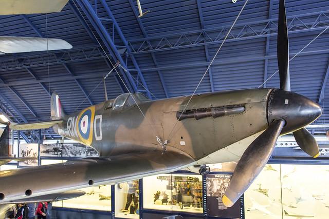 Supermarine Spitfire Mk I, Canon EOS 5D MARK III, Canon EF 24mm f/2.8 IS USM