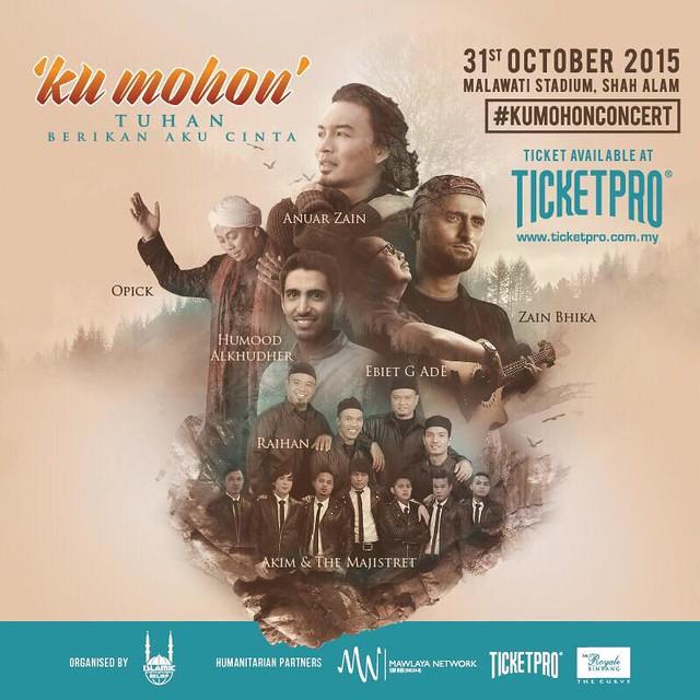 Anuar Zain Bakal Jayakan Konsert KU MOHON Tuhan Berikan Aku Cinta