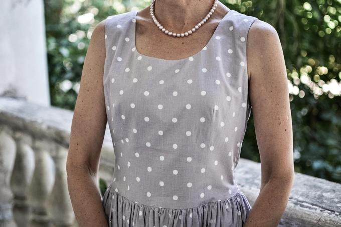 pastel polkadot dress 6