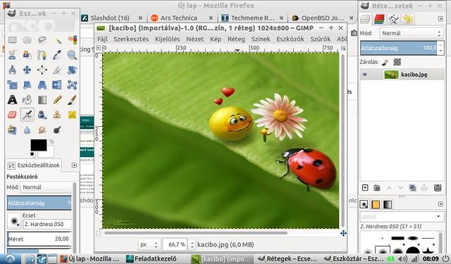 Asus Eee PC 1001HA korszerűsítése projekt #26