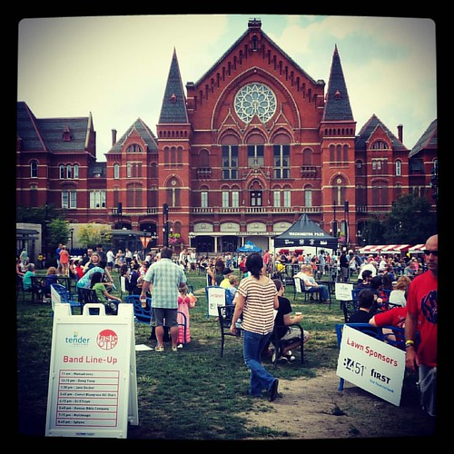 Yesterday's #TasteofOtR at #WashingtonPark.