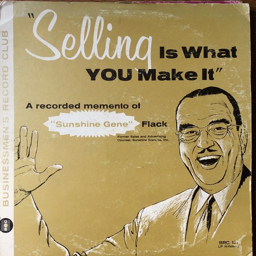 """Selling is What You Make It"" record cover"