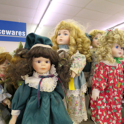 slew of dolls