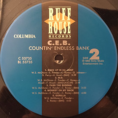 C.E.B.:COUNTIN' ENDLESS BANK(LABEL SIDE-B)