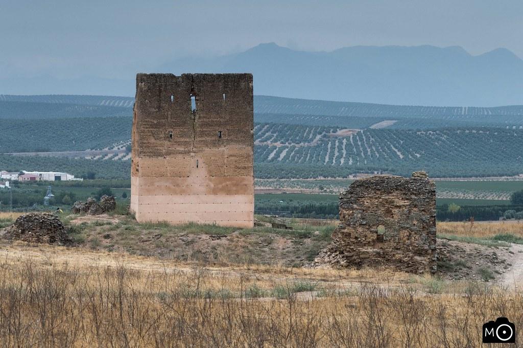 Ruinas del castillo de Santa Eufemia.