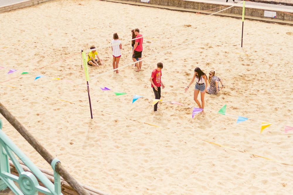stay in brighton beach volleyball