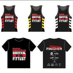 Ang ganda ng #MHPHURB #Singlet and #FinishersShirt @MensHealthPH! Excited for the PH #SOTF on 11.22.15!