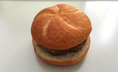 Meatball bun / Fleischpflanzerl-Semmel / Frikadellenbrötchen