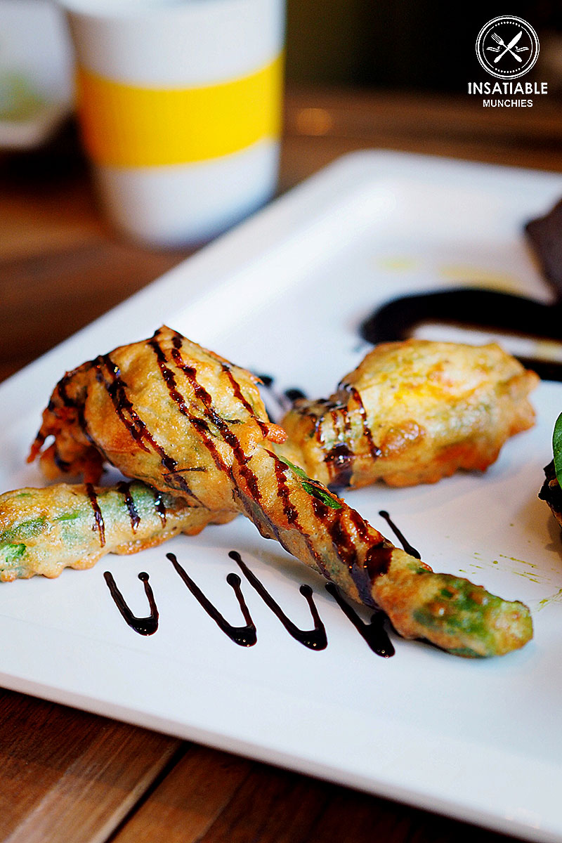 Sydney Food Blog Review of About: Spicer, Woollahra: Stuffed Zucchini Flowers