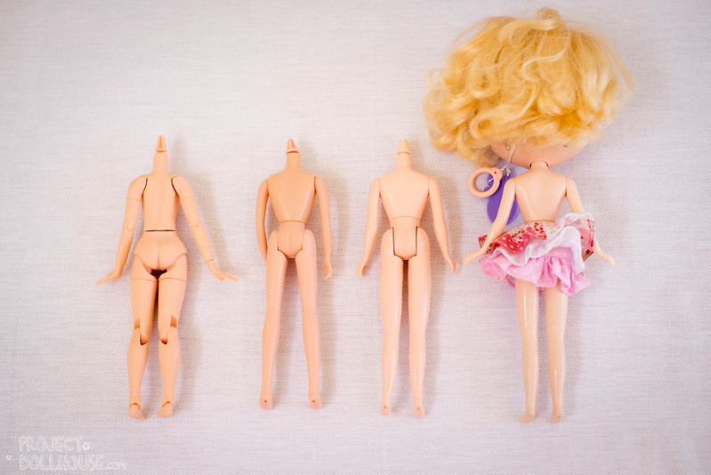 Blythe Body Comparisons