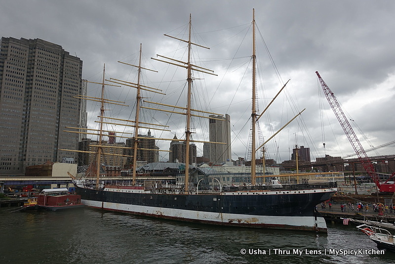 South Street Seaport, East River, South Street Seaport Museum, Peking,