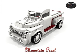 The Mountain Pearl - Ford 1953 F100 Pickup - Otto Rhodes & Bill Dickey