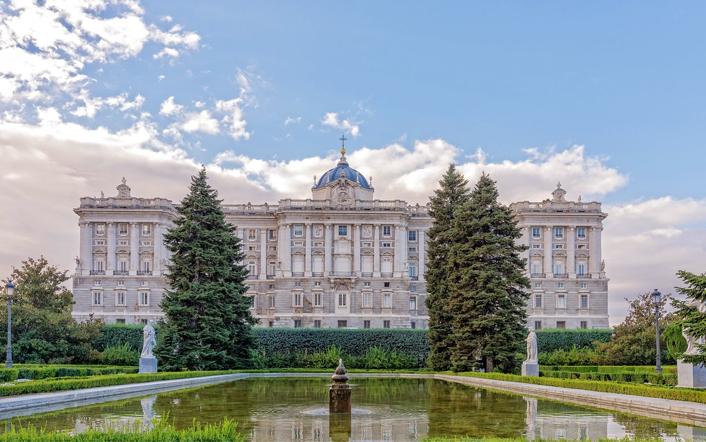 Palacio Real, Madrid. Royal Palace, Madrid.