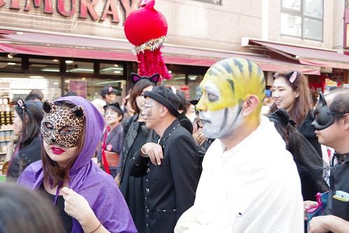 Cat's Halloween Parade in Kagurazaka 2015 08