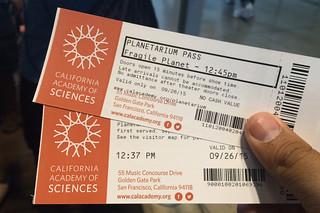 Neighborhood Days - California Academy of Sciences Planetarium Fragile Planet