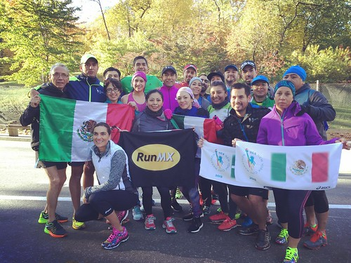 Mexican Run ASIC Maraton de Nueva York 2015