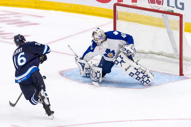 Saturday, October 10, 2015 vs. Manitoba Moose